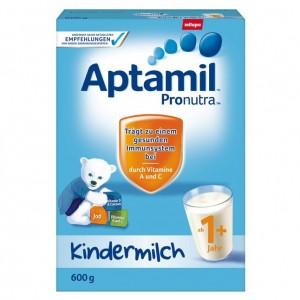Sữa Aptamil Đức 1+ cho bé từ 1 tuổi trở lên