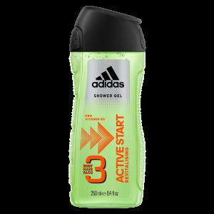 Gel Tắm Gội Và Rửa Mặt Adidas 3 In 1 Active Start