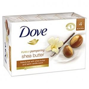 xà bông cục Dove hương vani