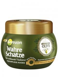 Kem Ủ Tóc Garnier Wahre Schatze Mythische Olive Cho Tóc Khô & Xơ