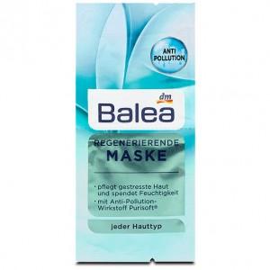 Mặt nạ dưỡng ẩm và chống lại tác hại của ô nhiễm môi trường đến da Balea Pollution