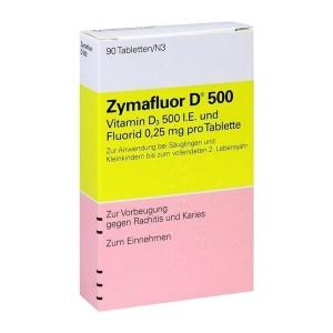 Vitamin D Zymafluor D500