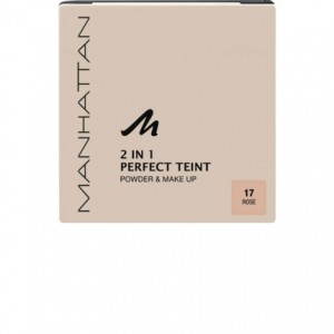 PHẤN PHỦ MANHATTAN 2 IN 1 PERFECT TEINT POWDER