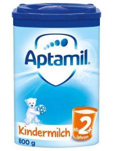 Sữa Aptamil Kindermilch 2+ Cho Trẻ Trên 2 Tuổi, 800g