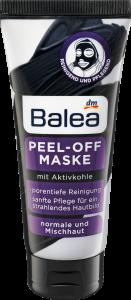 Mặt nạ than hoạt tính Balea của Đức