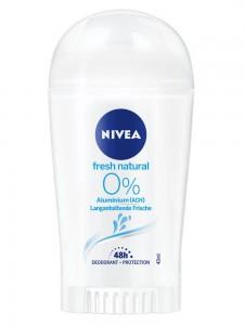Sáp Khử Mùi NIVEA Fresh Natural Hương Tự Nhiên, 40ml