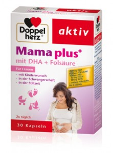 Thuốc bổ Mama plus+ dành cho phụ nữ muốn có con, phụ nữ có thai và cho con bú