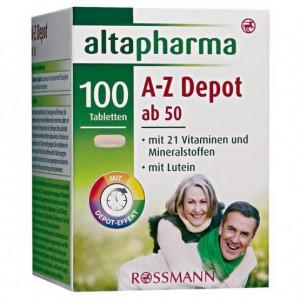 Thuốc bổ tổng hợp altapharma A-Z Depot ab 50