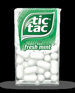 Kẹo ngậm Tictac hương bạc hà