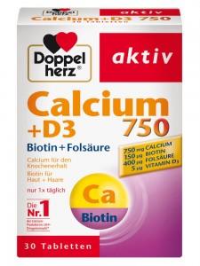 Viên Uống Doppelherz Calcium D3 750, 30 viên