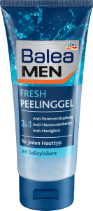 Tẩy da chết Balea Men Fresh Feeling Gel 3 in 1