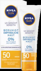 Kem chống nắng Nivea Sun UV Gesicht Spf 50 cho da mặt, 50 ml