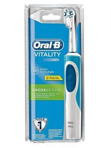 Bàn chải đánh răng điện Oral-B  Vitality Floss/Cross Action
