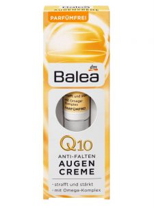 Kem Dưỡng Mắt Balea Q10 Chống Thâm Quầng Bọng Mắt, 15 ml
