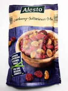 Nho Khô và Nam Việt Quất – Cranberry Sultaninen Mix