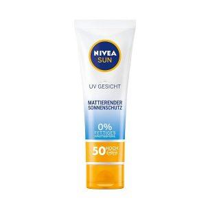 Kem chống nắng NIVEA Gesicht Mattierende 0% 50 hoch