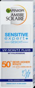 Kem chống nắng Garnier Ambre Solaire UV Schutz Fluid SPF50+